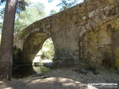 Pesquerías Reales y Fuentes de La Granja;senderismo en la comunidad de madrid foros senderismo